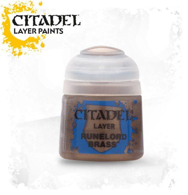 Pintura Citadel Layer Runelord Brass