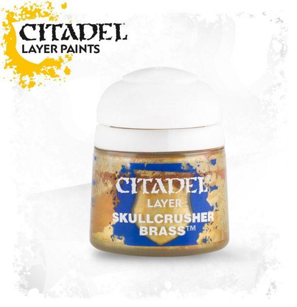 Pintura Citadel Layer Skullcrusher Brass