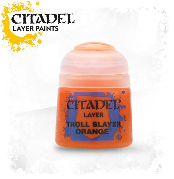 Pintura Citadel Layer Troll Slayer Orange