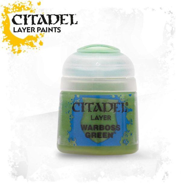 Pintura Citadel Layer Warboss Green