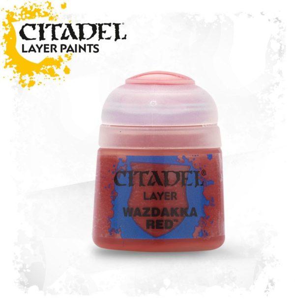 Pintura Citadel Layer Wazdakka Red