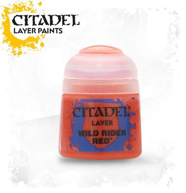 Pintura Citadel Layer Wild rider red