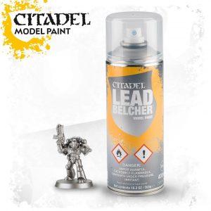 Pintura Imprimacion Metalizada Citadel Leadbelcher Spray