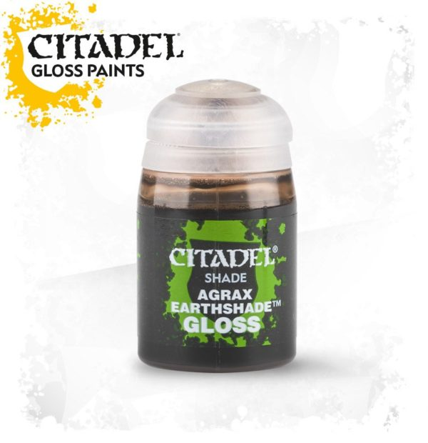 Pintura Tinta Brillante Citadel Shade Agrax Earthshade Gloss