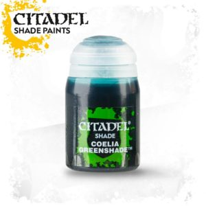 Pintura Tinta Turquesa Citadel Shade Coelia Greenshade