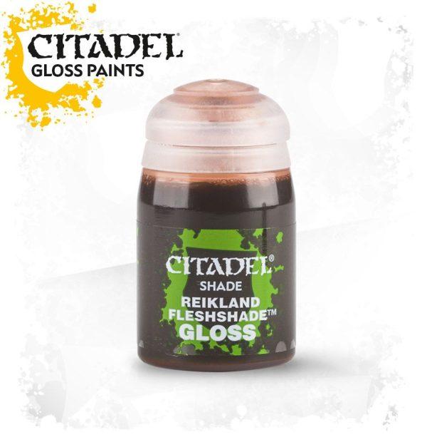 Pintura Tinta Carne Brillante Citadel Shade Reikland Fleshshade Gloss