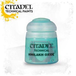 Pintura Efecto Oxido Citadel Technical Nihilakh Oxide