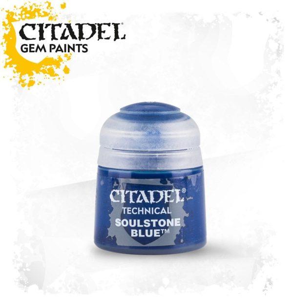 Pintura Gema Vitrificado Veladura Citadel Technical Soulstone Blue