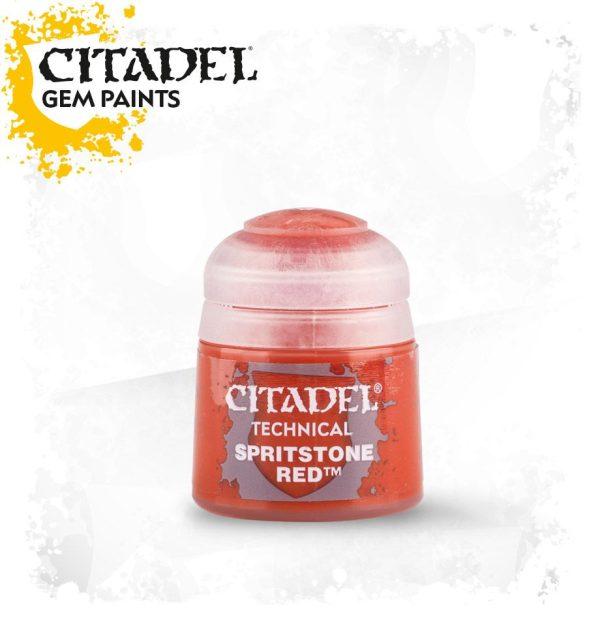 Pintura Gema Vitrificado Veladura Citadel Technical Spiritstone Red