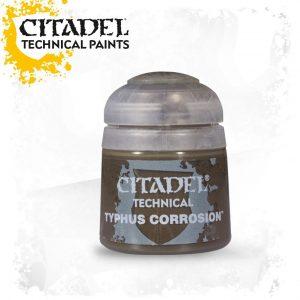 Pintura Efecto Citadel Technical Typhus Corrosion