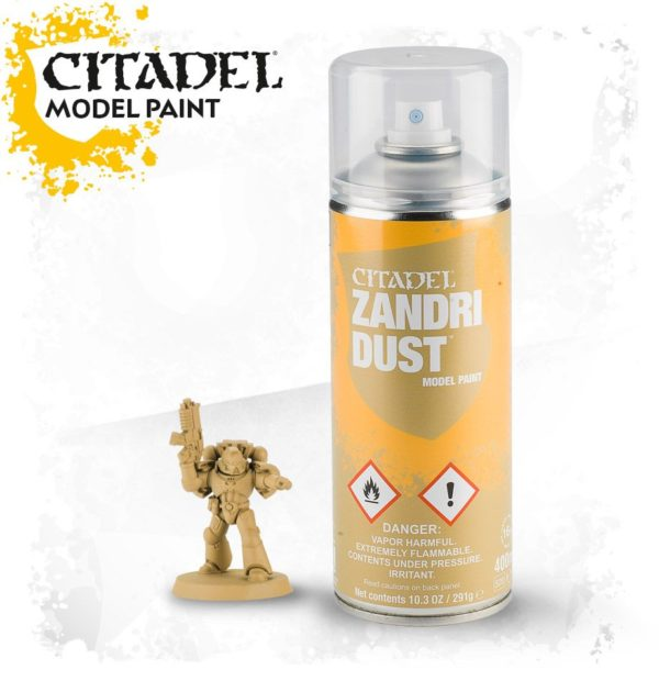 Pintura Imprimacion Ocre Citadel Zandri Dust Spray