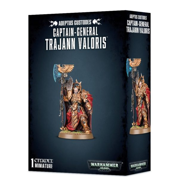 Custodes Warhammer 40k Trajann Valoris