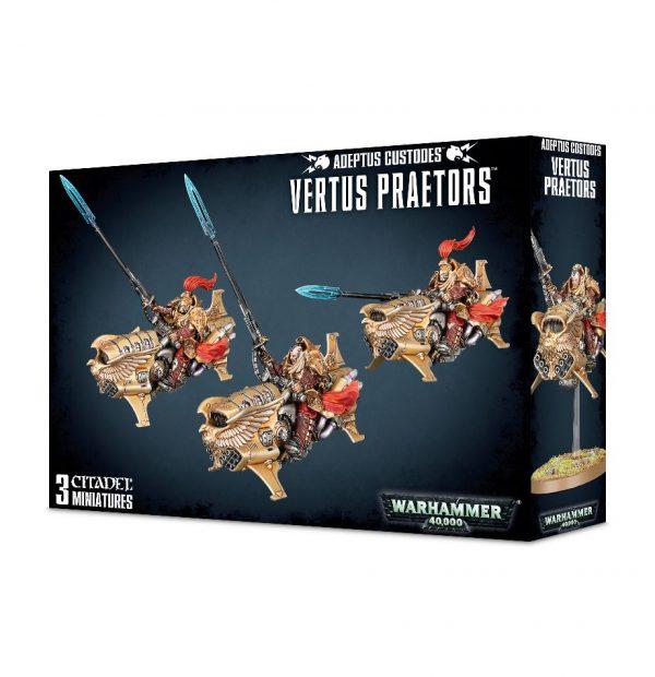 Custodes Warhammer 40k Vertus Praetors