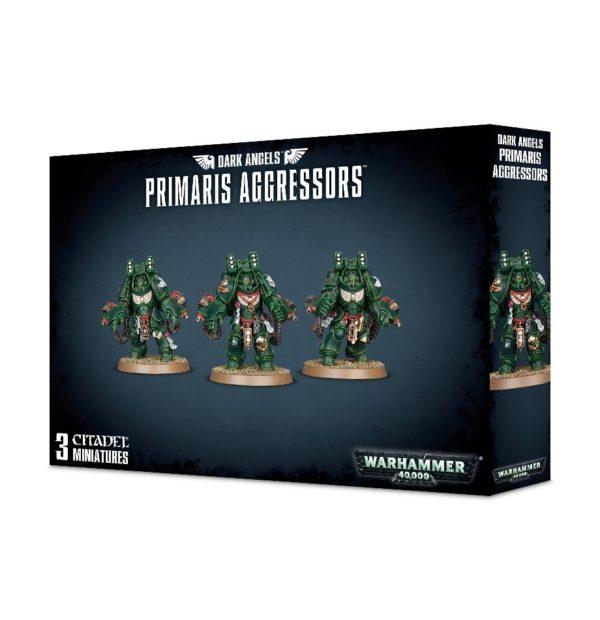Primarines Angeles Oscuros Space Marines Espaciales Warhammer 40k Primaris Dark Angels Aggressors
