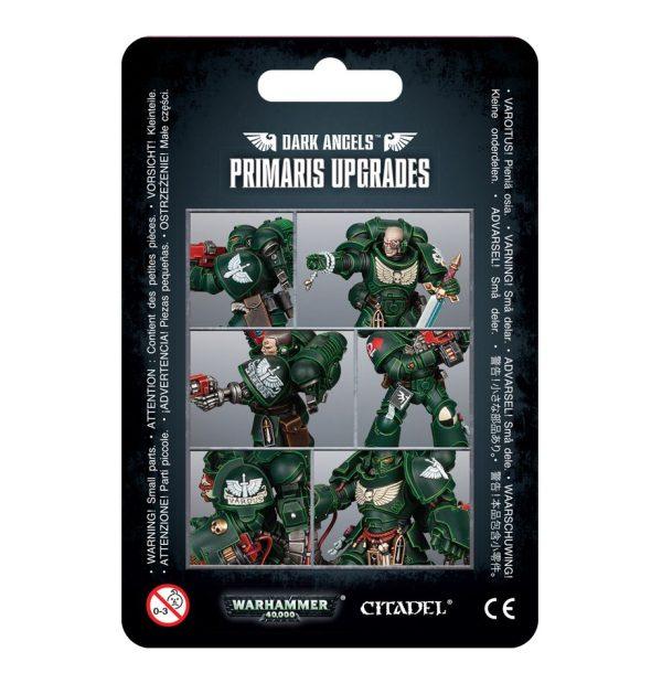 Primarines Angeles Oscuros Space Marines Espaciales Warhammer 40k Primaris Upgrades