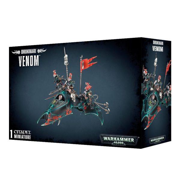 Ponzoña Dark Eldar Oscuros Warhammer 40k Venom