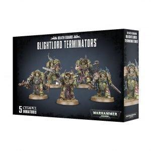 Plagosos Barriguitas Exterminadores Guardia Muerte Death Guard Nurgle Chaos Space Marines Espaciales Caos Warhammer 40k Blightlord Terminators