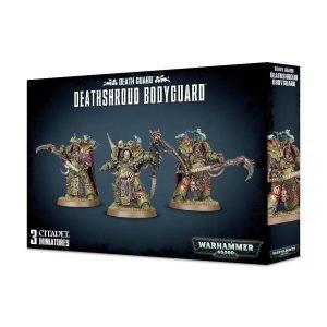 Plagosos Barriguitas Exterminadores Guardia Muerte Death Guard Nurgle Chaos Space Marines Espaciales Caos Warhammer 40k Deathshroud Bodyguard