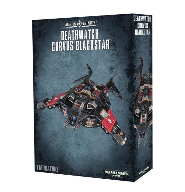 Deathwatch Space Marines Espaciales Warhammer 40k Corvus Blackstar