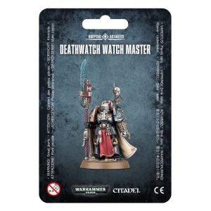 Deathwatch Space Marines Espaciales Warhammer 40k Watch Master