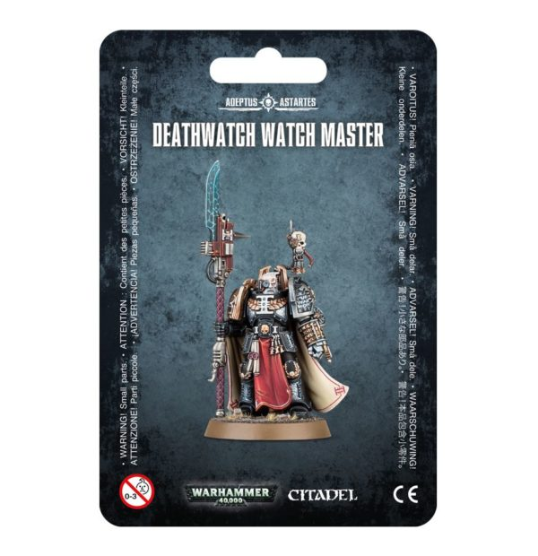Deathwatch Space Marines Espaciales Warhammer 40k Watch Master