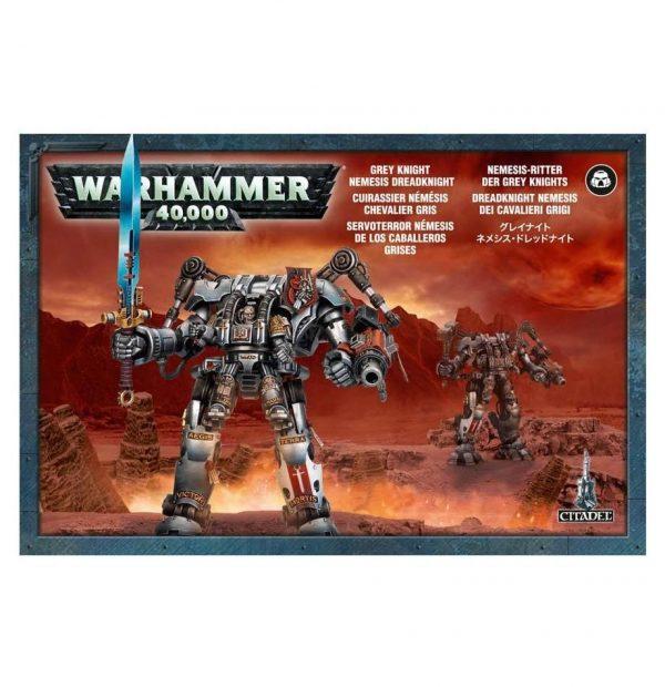 Servoterror Nemesis Caballeros Grises Grey Knights Warhammer 40k Dreadknight