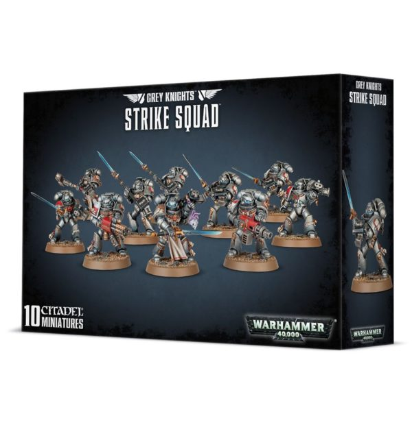 Caballeros Grises Grey Knights Warhammer 40k Strike Squad Interceptor Purifier Purgation