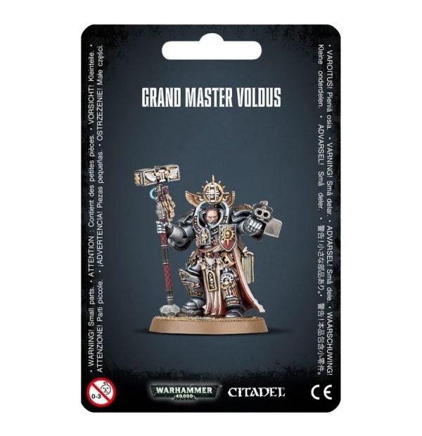 Gran Maestre Exterminador Caballeros Grises Grey Knights Gathering Storm Warhammer 40k Voldus