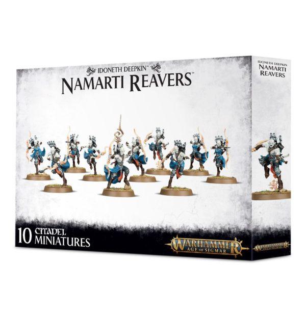 Elfos Marinos Idoneth Warhammer Sigmar Orden Namarti Reavers