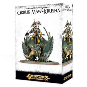 Orcos Ironjawz Warhammer Sigmar Maw Krusha Gordrakk Orruk