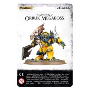 Orcos Ironjawz Warhammer Sigmar Megaboss Orruk