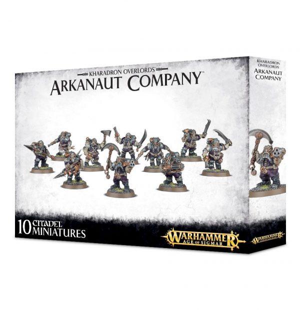 Kharadron Warhammer Sigmar Enanos Orden Arkanaut Company