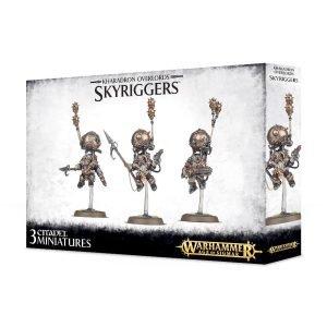 Kharadron Warhammer Sigmar Enanos Orden Endrinriggers Skywardens Skyriggers