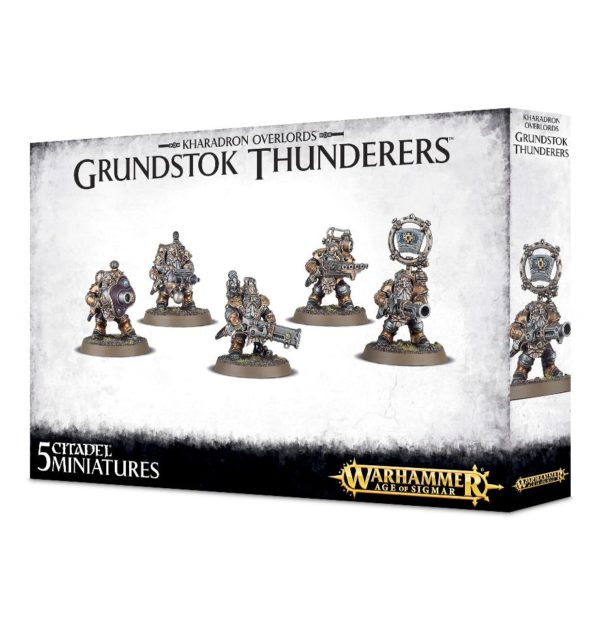 Kharadron Warhammer Sigmar Enanos Orden Grundstok Thunderers