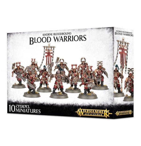 Guerreros Khorne Warhammer Sigmar Caos Blood Warriors