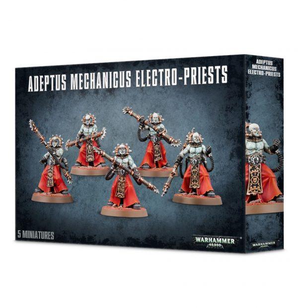 Fulgurite Corpuscarii Mechanicus Warhammer 40k Electro Priests