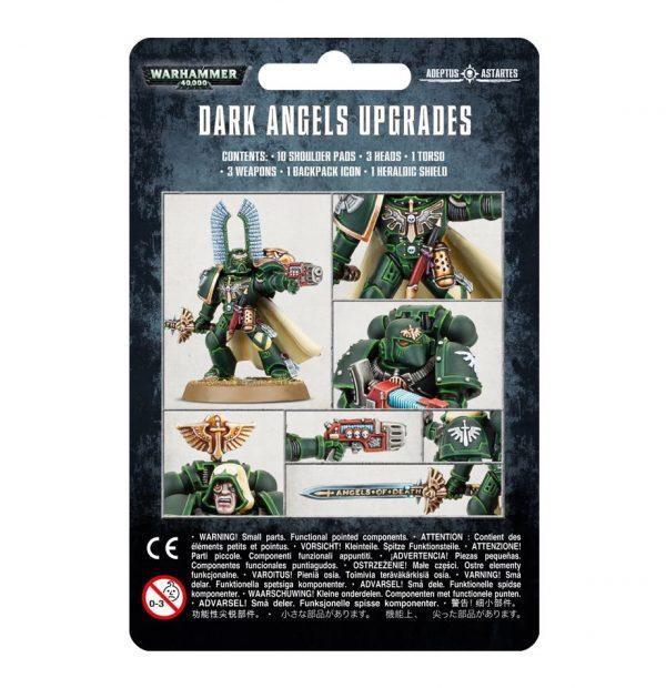 Upgrade Angeles Oscuros Space Marines Espaciales Warhammer 40k mejora Dark Angels