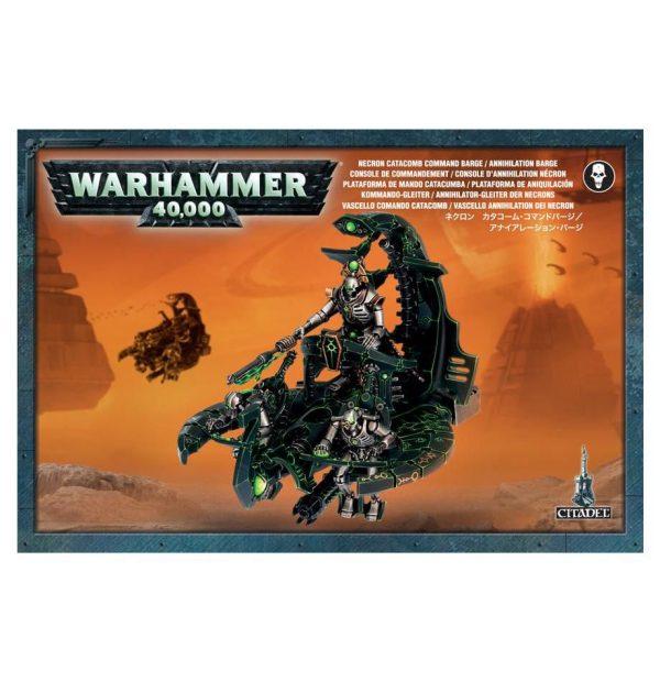 Plataforma Aniquilacion Catacumba Necrons Necrones Warhammer 40k Catacomb Command Annihilation Barge