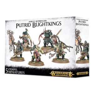 Guerreros Nurgle Warhammer Sigmar Caos Blightkings