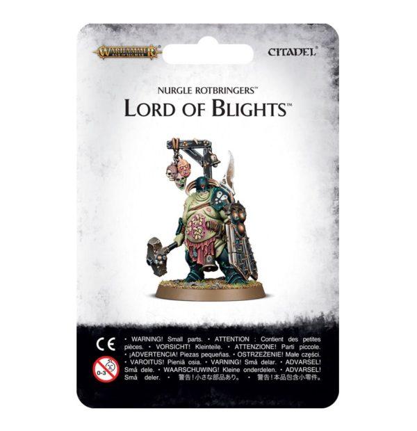Nurgle Warhammer 40k Sigmar Caos Lord of Blights