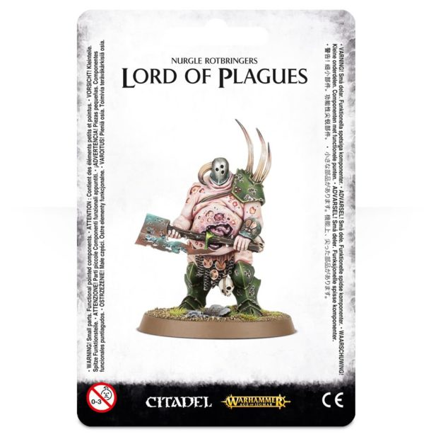 Señor Caos Nurgle Warhammer Sigmar Lord of Plagues