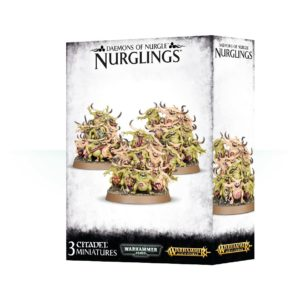 Nurglings Nurgle Warhammer 40k Sigmar Caos Nurgletes