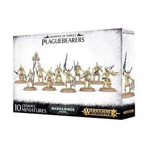 Portadores Plaga Nurgle Warhammer 40k Sigmar Caos Plaguebearers