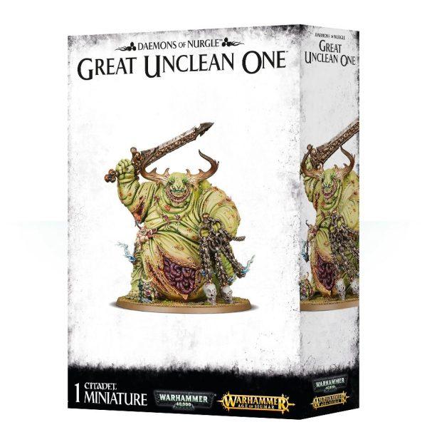 Gran Inmundicia Nurgle Warhammer 40k Sigmar Caos Rotigus Great Unclean One