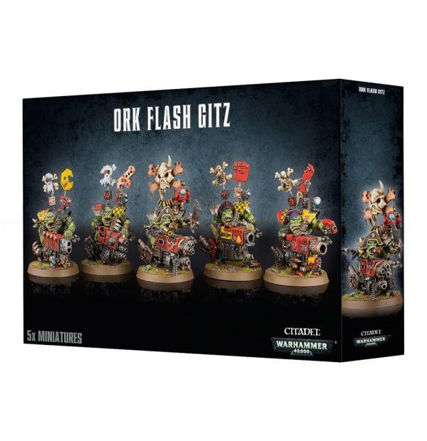 Tipejoz Vacilonez Orkos Orks Warhammer 40k Flash Gitz