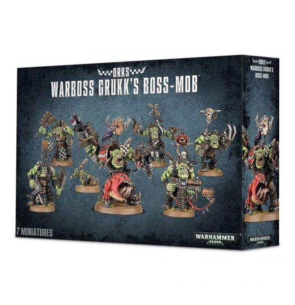 Noblez Orkos Orks Warhammer 40k Grukk Nobz