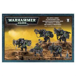 Zakeadores Achicharradores Orkos Orks Warhammer 40k Lootas Burnas