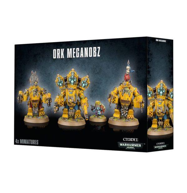 Noblez Megaarmadura Meganoblez Orkos Orks Warhammer 40k MegaNobz