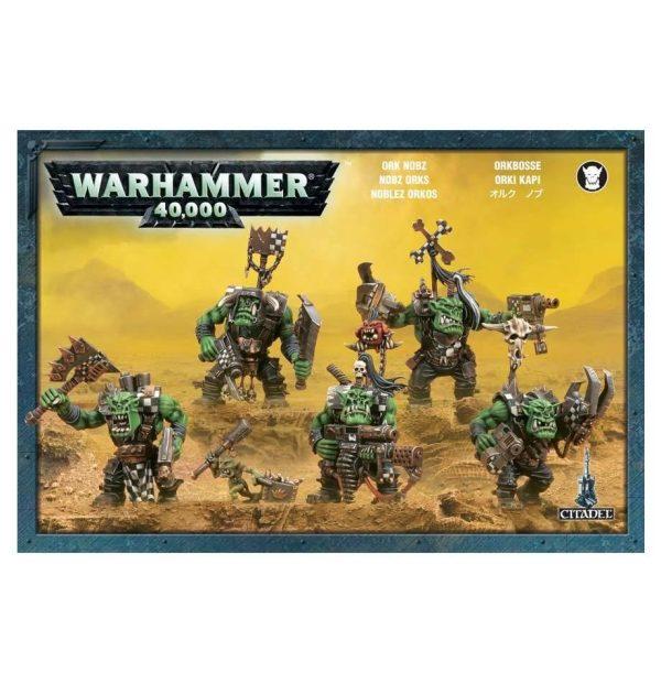Noblez Orkos Orks Warhammer 40k Nobz