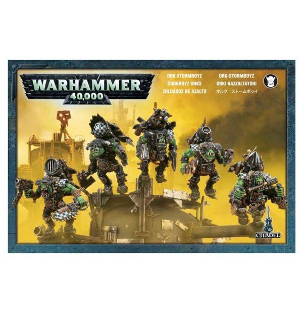 Zoldadoz Azalto Orkos Orks Warhammer 40k Stormboyz